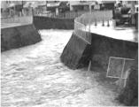 東除川護岸崩落